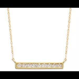 """Kate Spade NWOT Raise THE BAR PAVE GOLD SIZE 16"""""""